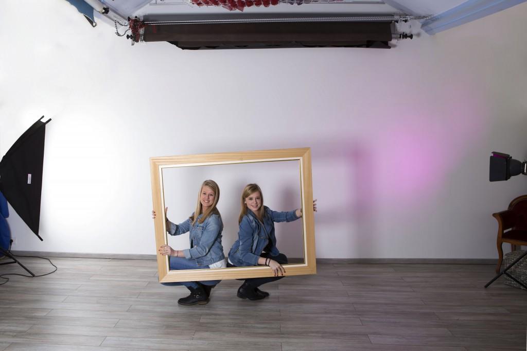 Photo du studio équipé où nous faisons les prises de vue!!!