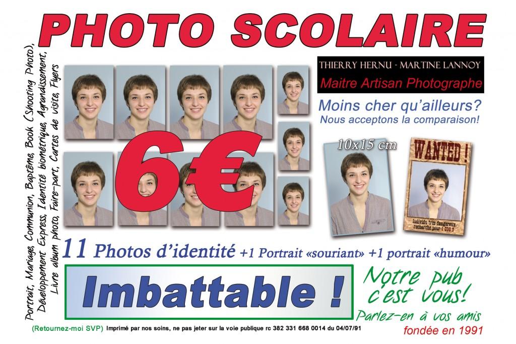 """Votre carte d'identité va vous """"suivre"""" pendant 15 ans maintenant, alors attention où vous faites vos photos!! Chez nous, votre photo d'identité est un PORTRAIT! Pensez aussi à la photo SCOLAIRE!! Les prix, la qualité, c'est chez Photomontigny. http://pro.photomontigny.fr/ Parlez-en autour de vous, """"partagez"""" l'info! Notre pub c'est vous.  Merci à tous"""