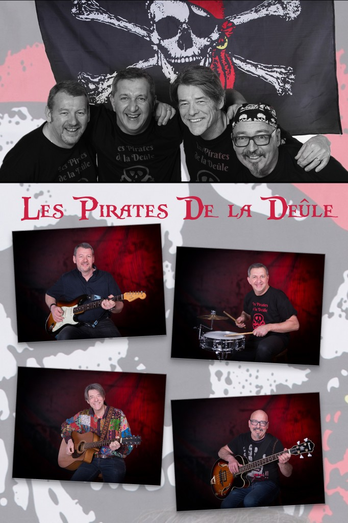 Groupe de musiciens Les Pirates de la Deule