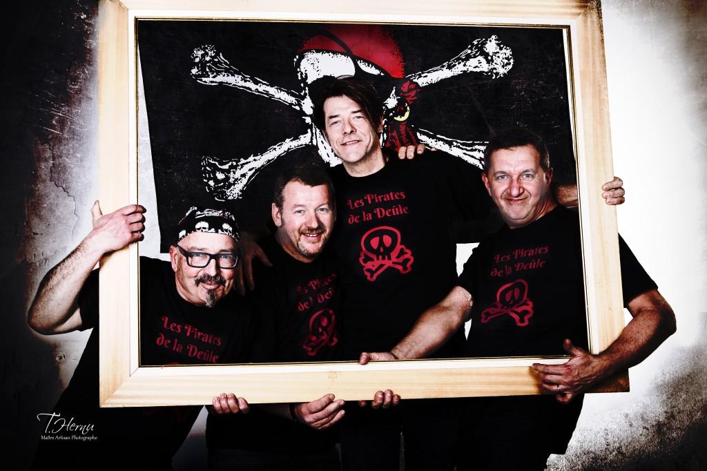 Groupe de musiciens Les Pirates de la Deûle